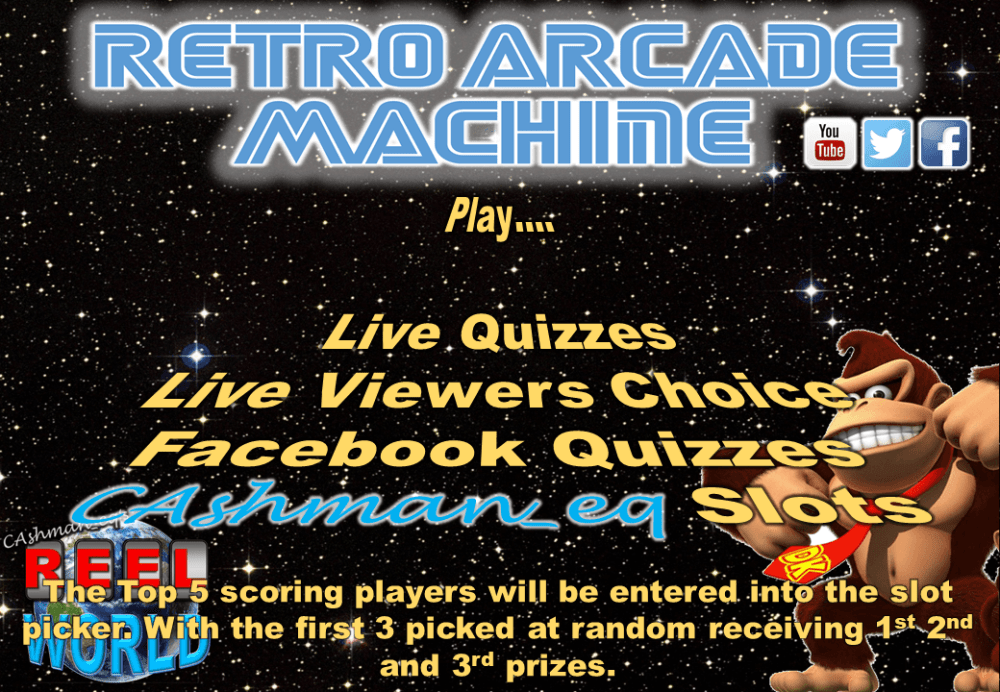 Retro Arcade Machine Stocking Filler Tournament 2