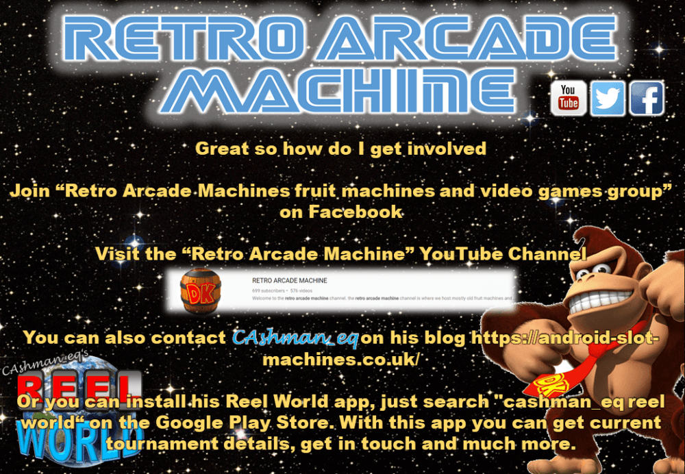 Retro Arcade Machine Stocking Filler Tournament 3