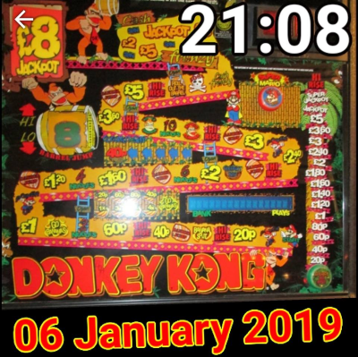 Donkey Kong Smart Watch Face 2