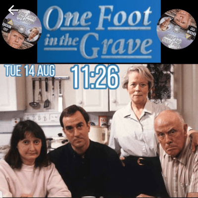 One Foot In The Grave Smart Watch Face