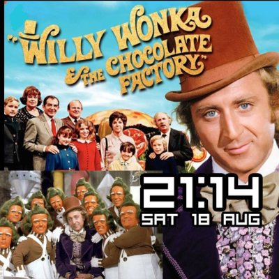 Willy Wonka & The Chocolate Factory Smart Watch Face