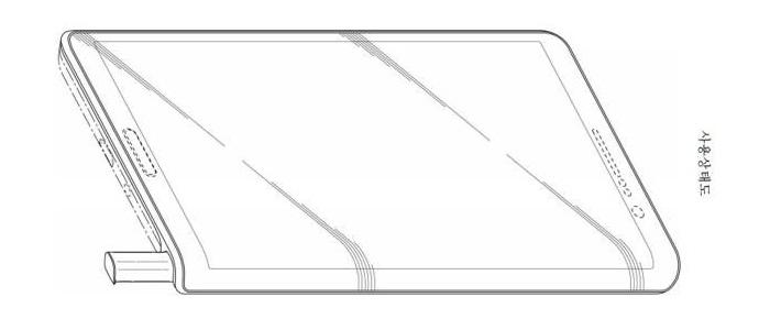 Samsung brevetta una cover con S Pen integrata