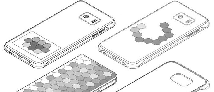 Samsung brevetta una cover per smartphone con display