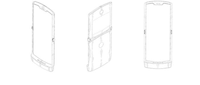 Motorola RAZR: un nuovo brevetto svela un ritorno alle origini