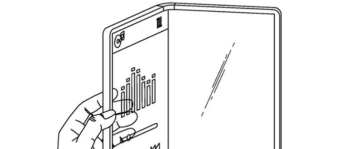 LG brevetta uno smartphone flessibile con trasparenza