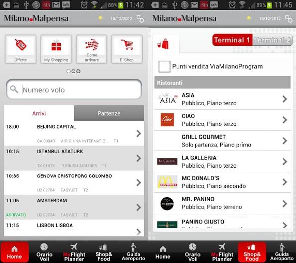 SEA Aeroporti Milano pubblica le app ufficiali di Linate e Malpensa