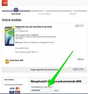 S6 Edge + / Shop SFR