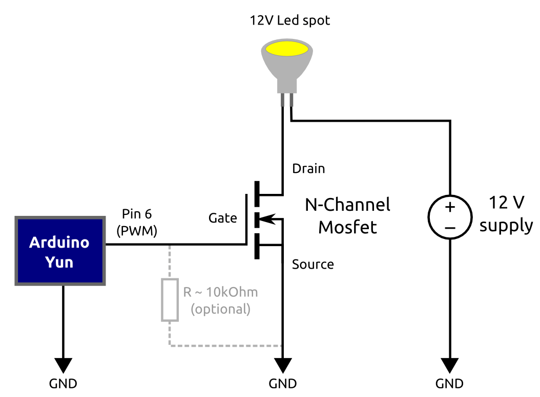 Led Dimmer Led Dimmer Using Mosfet