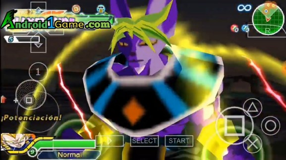 Beerus and broly fusion