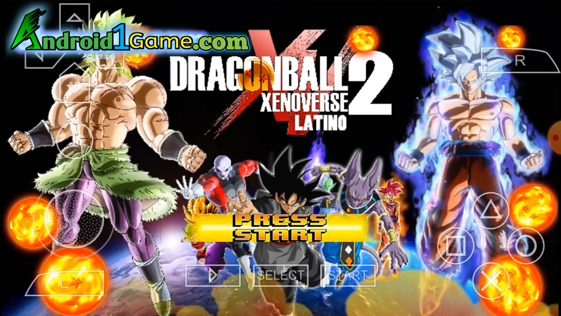 Dragon ball Z Game Xenoverse 2 For Android PSP ISO