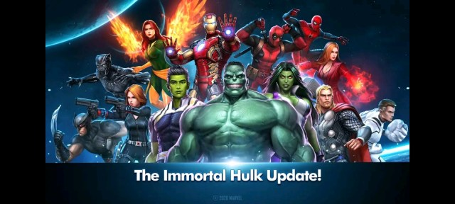 Avengers game for Android