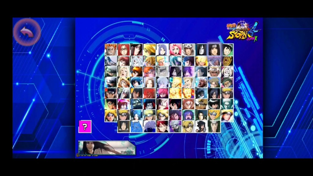 New Naruto Ninja Storm Climax Mugen apk for Android Download