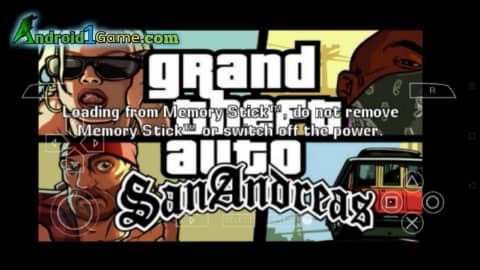 GTA San Andreas PPSSPP for Android Download