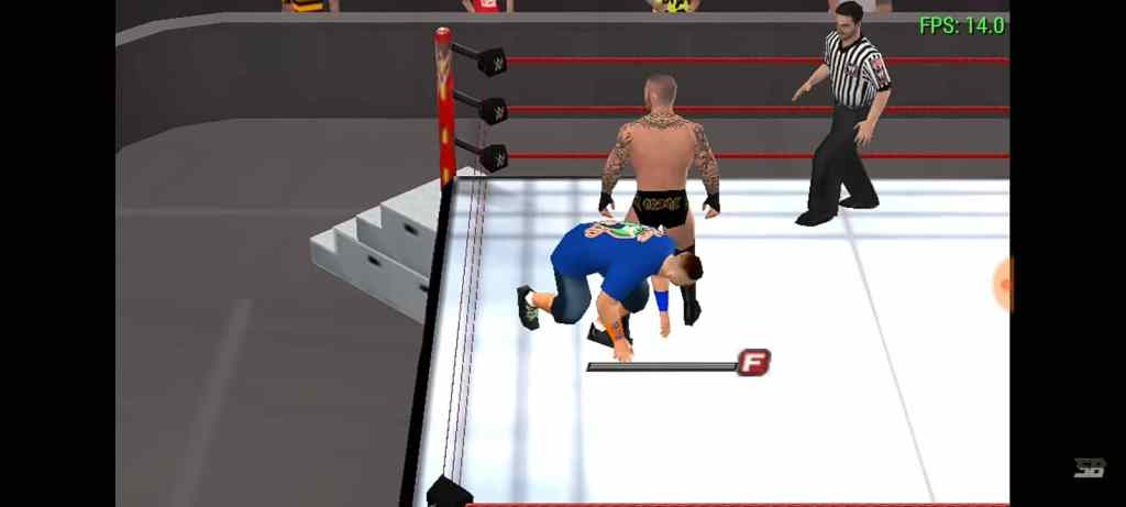 WWE 2k18 ppsspp gameplay