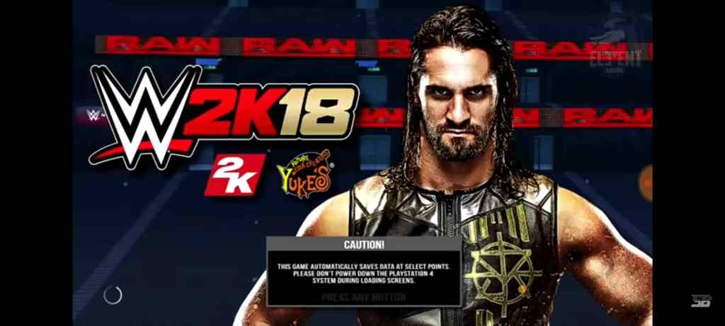 WWE 2k18 PPSSPP ISO Download for Android