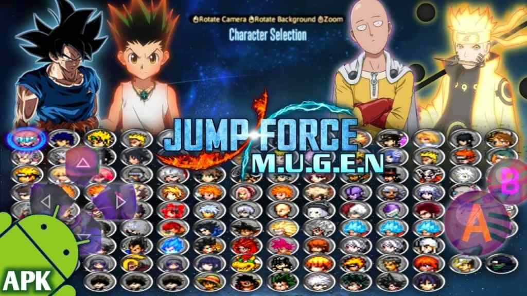 Jump Force MUGEN Download for Android/PC