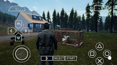 Ranch Simulator PPSSPP Zip File for Android