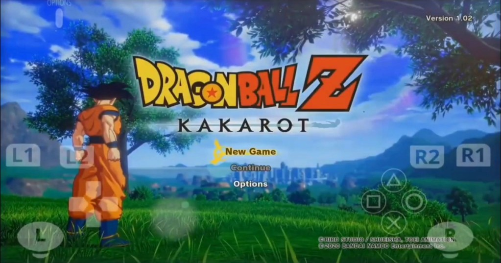 DBZ Kakarot Apk Download For Android Without Emulator