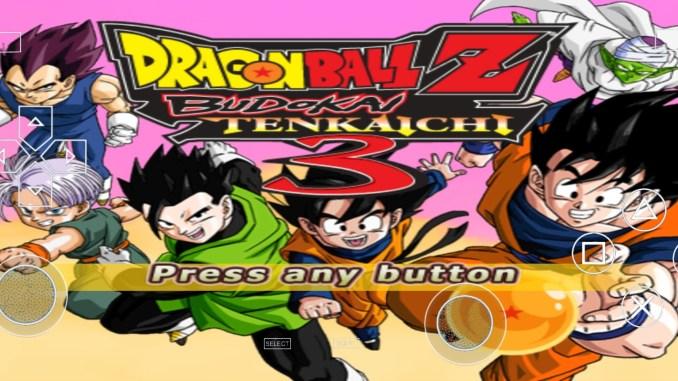Dragon Ball Z Budokai Tenkaichi 3 PPSSPP