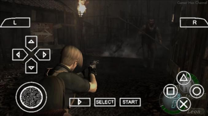 Resident Evil 4 PPSSPP