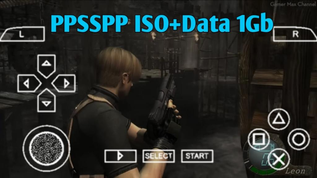Resident Evil 4 PPSSPP Zip File Download For Android