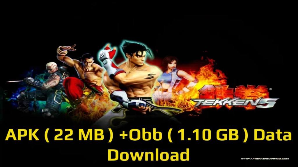 Tekken 5 APK Game Download For Android