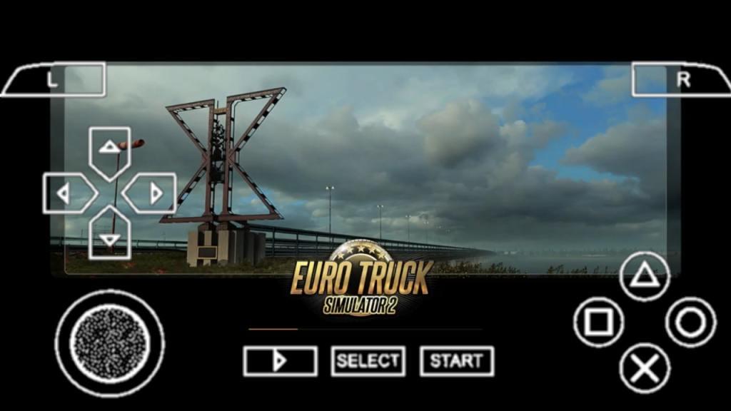 Euro Truck Simulator 2 PPSSPP ISO Zip Download
