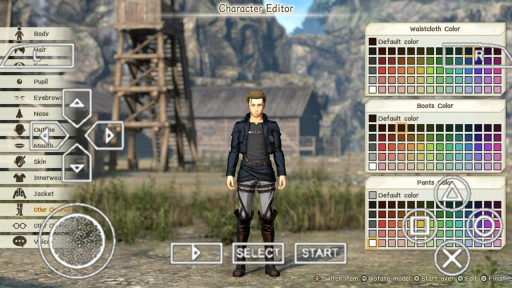 Attack On Titan 2 PPSSPP