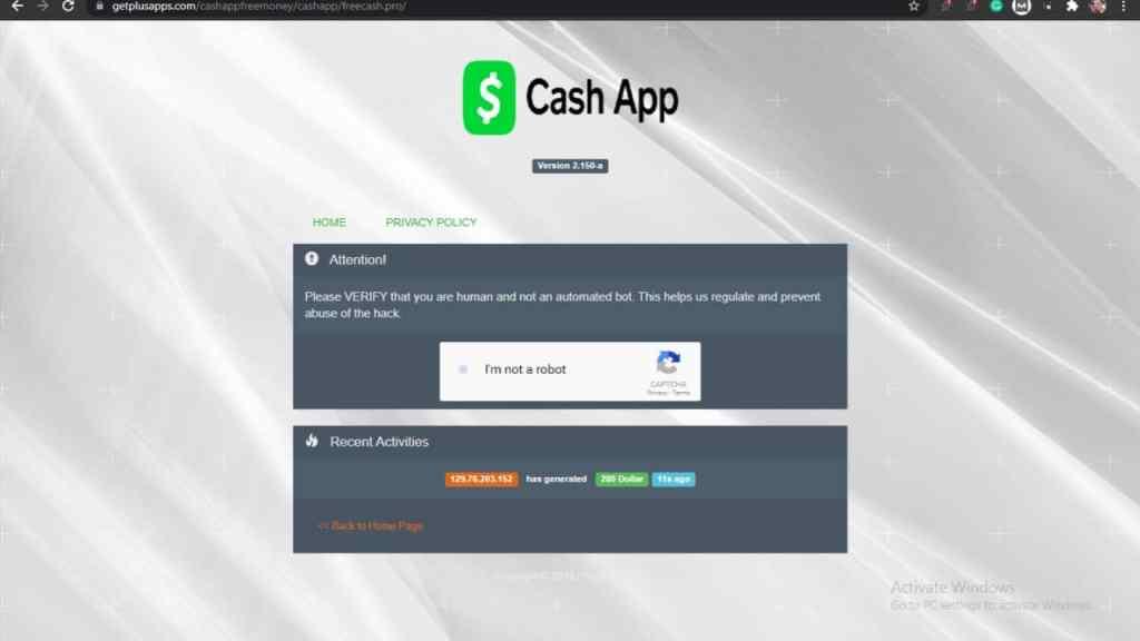 Free Money Cash App