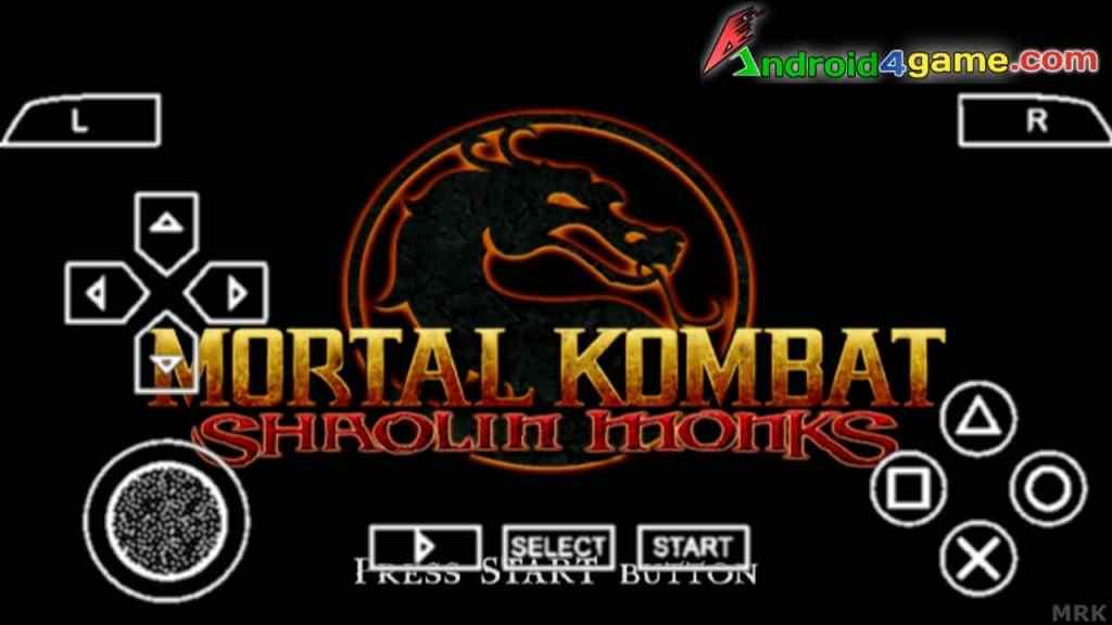 Mortal Kombat Shaolin Monks PPSSPP