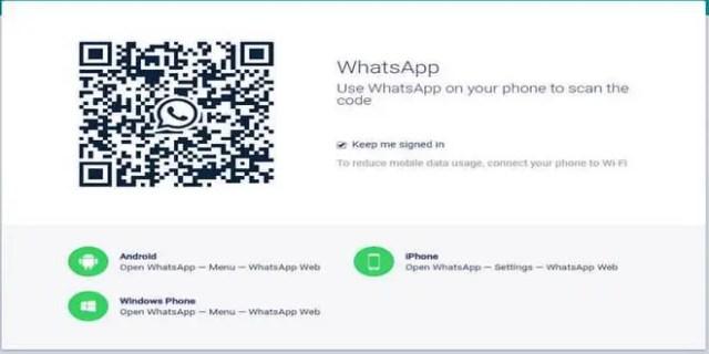 Cara Sadap WhatsApp Lewat Internet WhatsApp Web