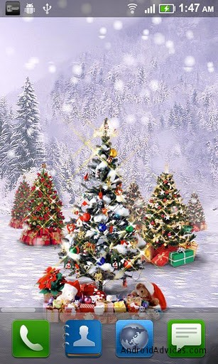 Falling Apart Wallpaper 7 Best Christmas Live Wallpapers For Android Lighten Up