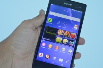 Sony Xperia C3 Front