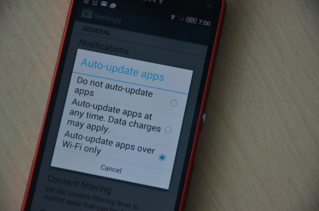 Google Play - How to auto-update apps
