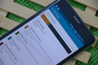 Samsung Galaxy Note Edge internal memory