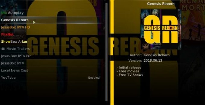 How to Install Genesis on Kodi