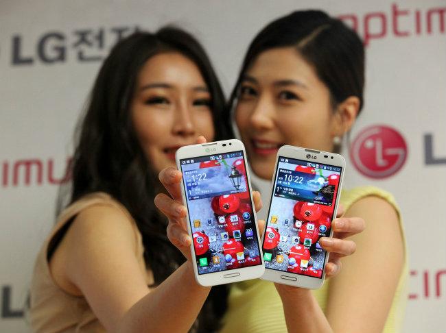 Phablet LG® Optimus G Pro