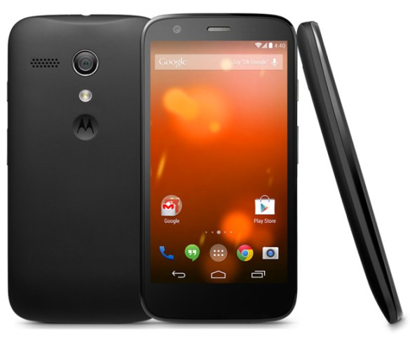 Motorola Moto G en su version Google® Play