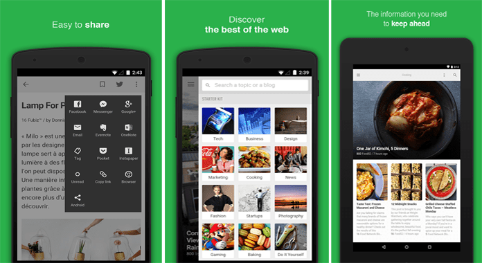 RSS Reader app Feedly for Android Review