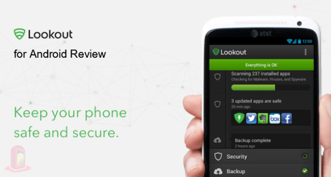 Lookout Android Security & Antivirus for Android - Review