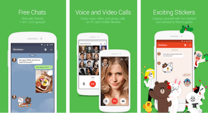 LINE Best Video Calling Apps for Android