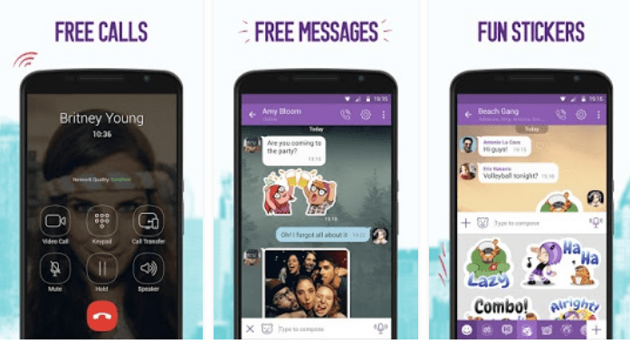 Viber Best Video Calling Apps for Android