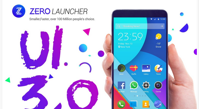 Best Launchers for Android ZERO Launcher pro App