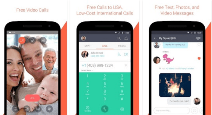 Tango Best Video Calling Apps for Android