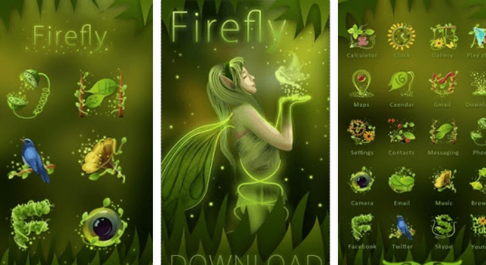 Fre Download Firefly Best Go Launcher Themes