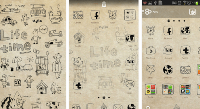 Life time Best Go Launcher Themes Free Download for Android