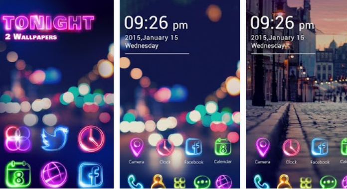 Tonight Best Go Launcher Themes Free Download for Android