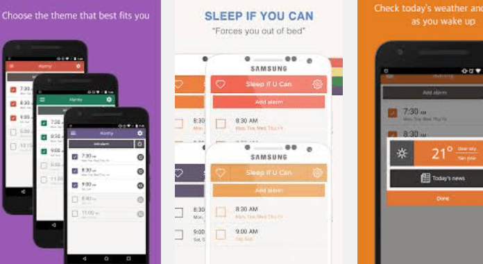 Alarmy (Sleep If U Can) Best Alarm Clock Apps for Android