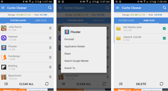 Best Android Cleaner Apps Cache Cleaner Free download