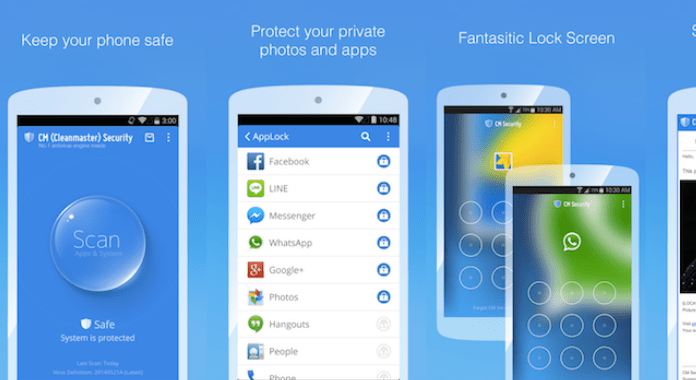 CM Security AppLock AntiVirus Must Have Android Apps free